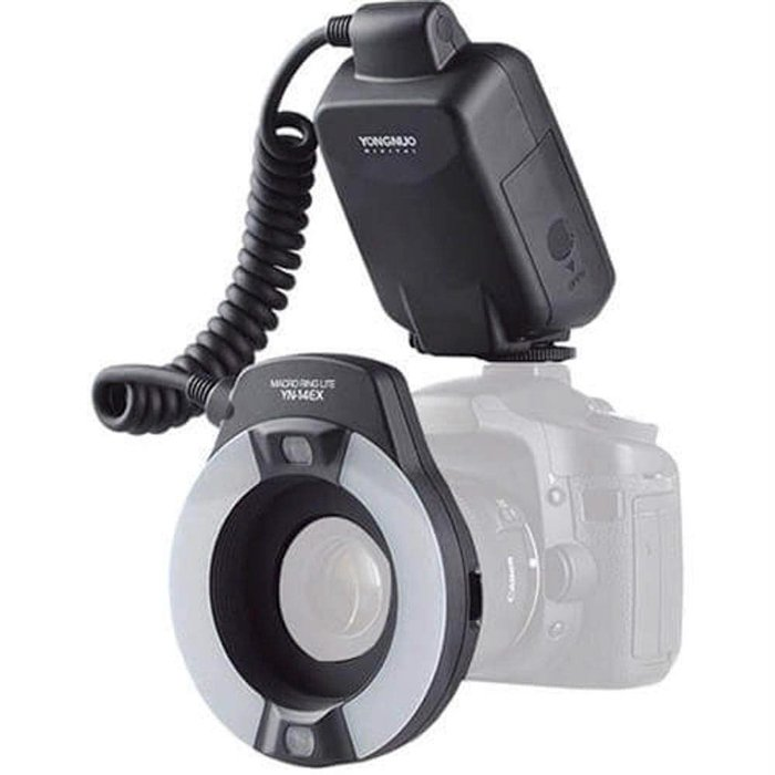 A photography ring flash