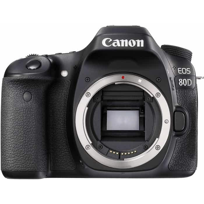 A Canon EOS 80D body