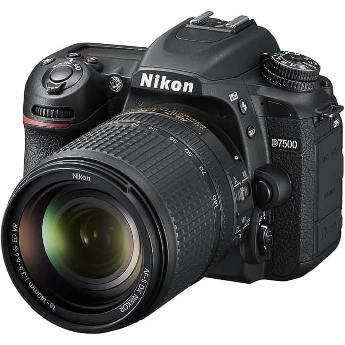 Nikon D7500 - an excellent well rounded DSLR camera