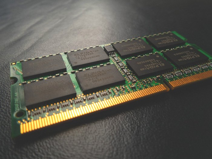 A close up of a circuit board