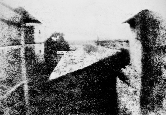 View From The Window At Le Gras -Joseph Nicéphore Niépce, most iconic photos