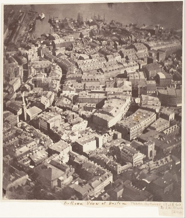 First Aerial Photograph - James Wallace, most iconic pictures
