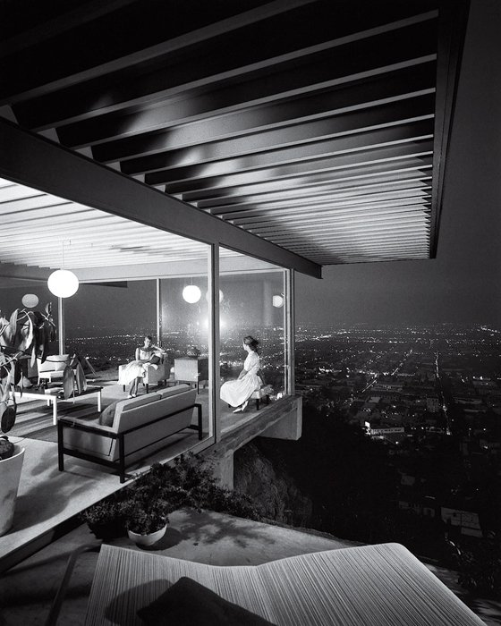 Case Study House No. 22 -Julius Shulman, famous photos