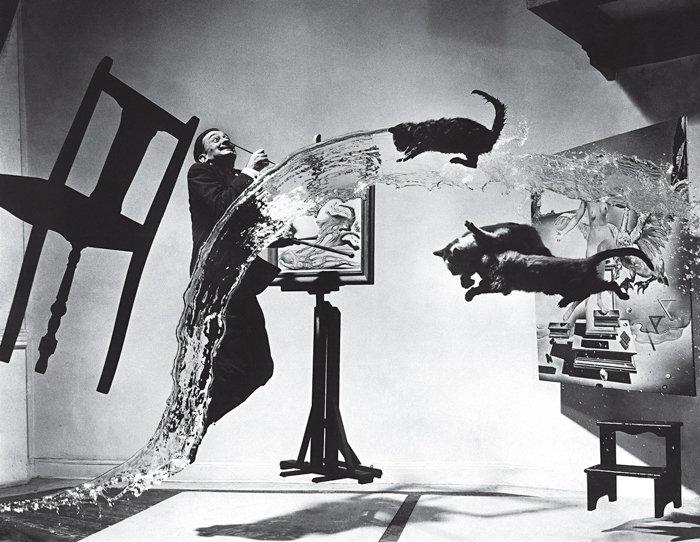 Dalí Atomicus by photographer Philippe Halsman