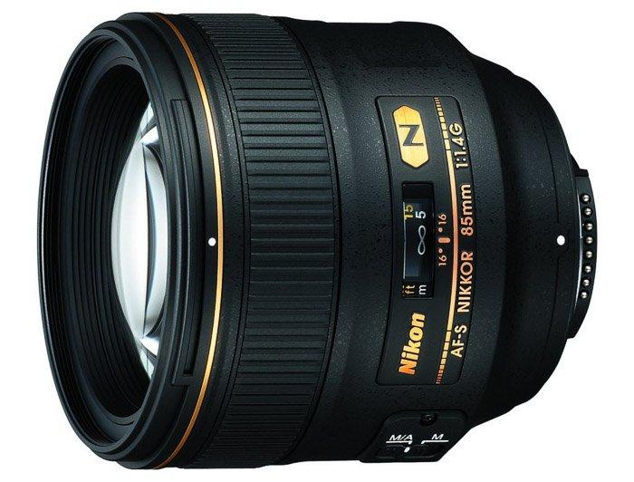 Nikon 85mm f/1.4G portrait lens
