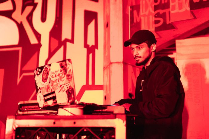 DJ at V Colossal Creeps Night in Brooklyn, - event photography job