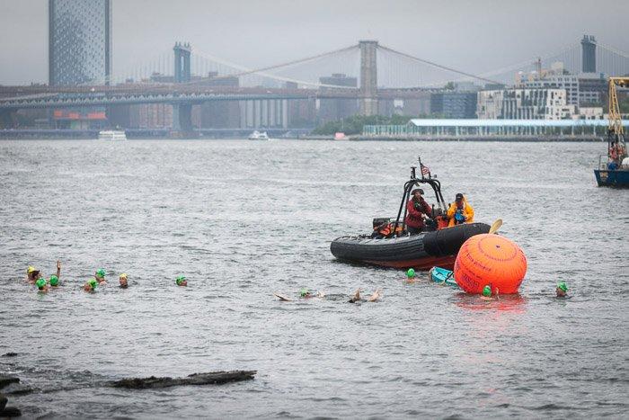 NYC 2018 Governor's Island Swim Race. Event photography tips