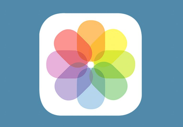 The Photo App icon - how to add text to photos