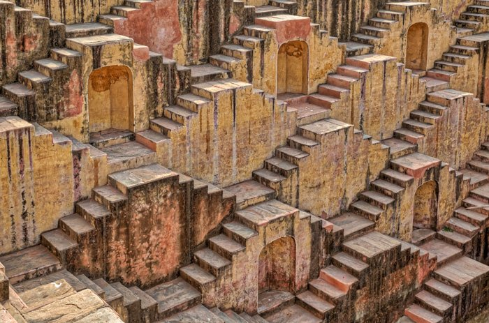 Chand Baori, Jaipur - best architecture photography locations in the world