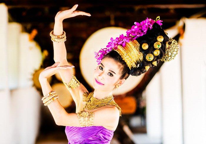 A portrait of a female dancer shot with Nikon prime lenses