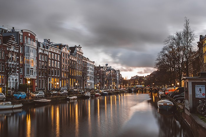 A few of a canal in amsterdam - most beautiful cities in Europe photography