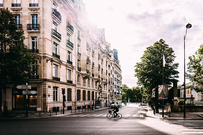A street view of paris - beautiful cities to photograph