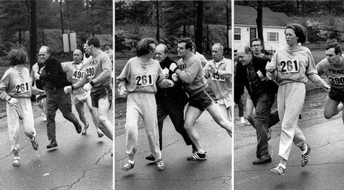 First Woman to Officially Run the Boston Marathon - Boston Herald (1967)