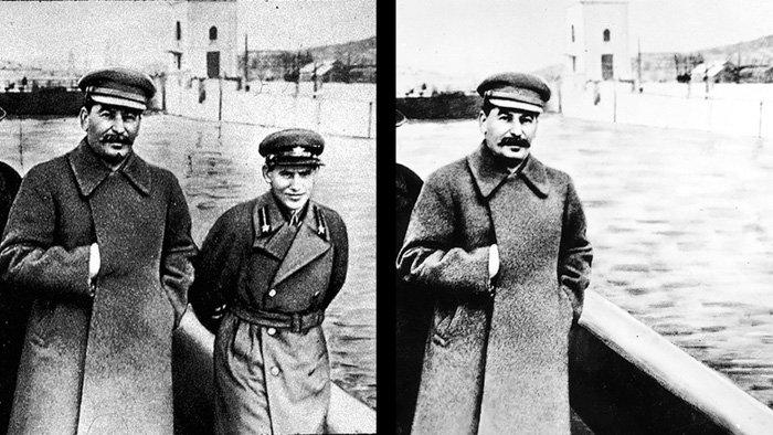 Stalin and Nikolai Yezhov