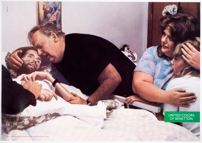 The Face of AIDS - Therese Frare (1990) - controversial photos