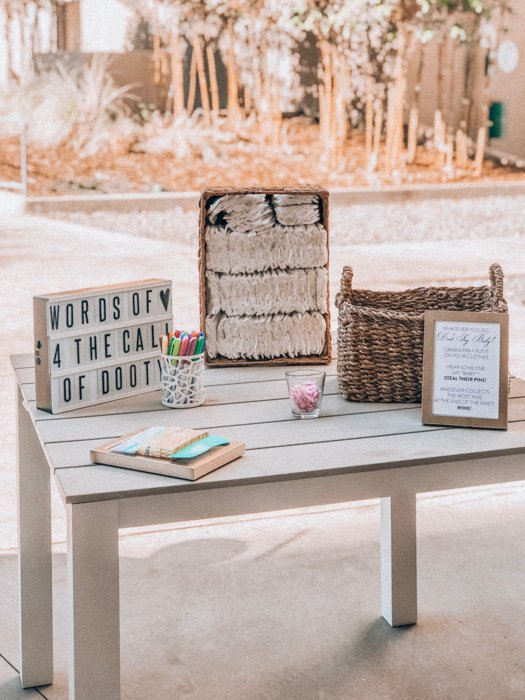 A simple DIY photo booth set up