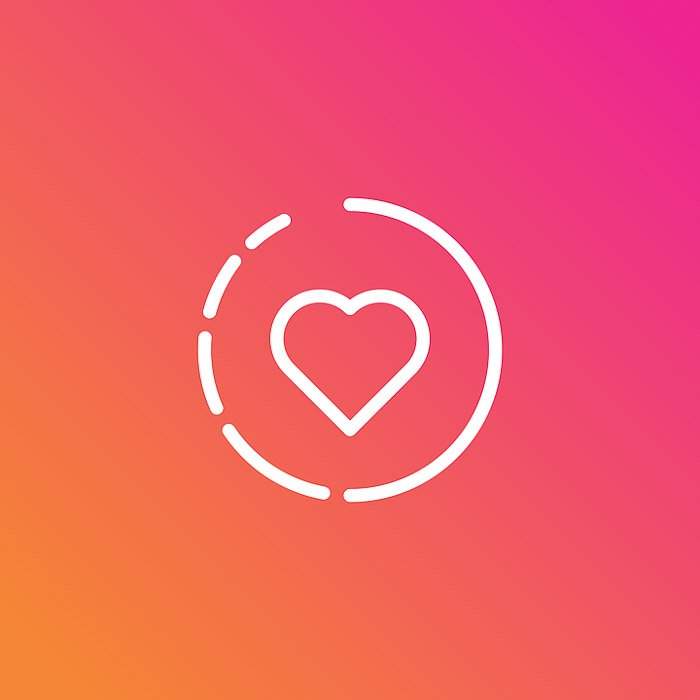 The Instagram stories icon - apps to add text to photos