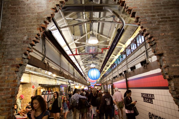 The Chelsea Market - best places to take pictures in nyc