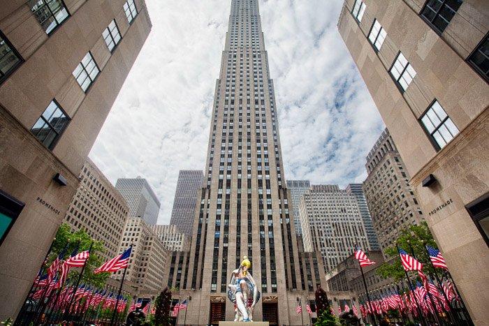 The Rockefeller Center - New York photography