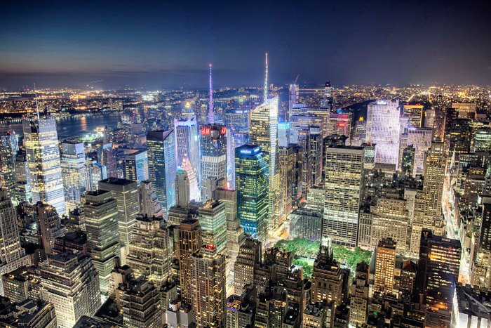 The view from the top of the Empire State Building - new york city pictures