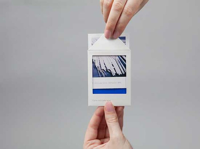 Cora Hillebrand photography business cards