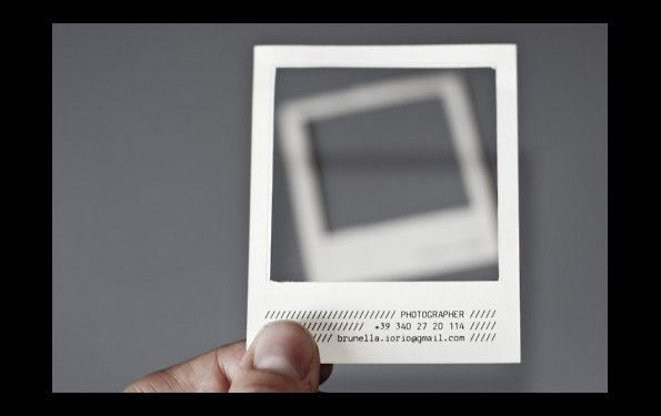 Brunella Iorio photography business cards