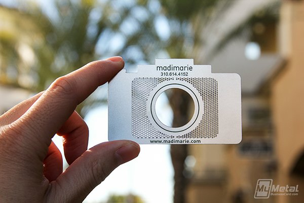 Madi Marie photography business cards