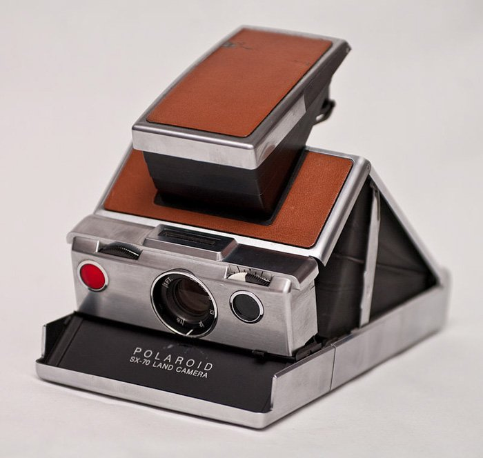 Polaroid First Auto-Focus SLR Camera 1979
