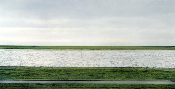 The world's most expensive photograph, Rhein II, by Andreas Gursky