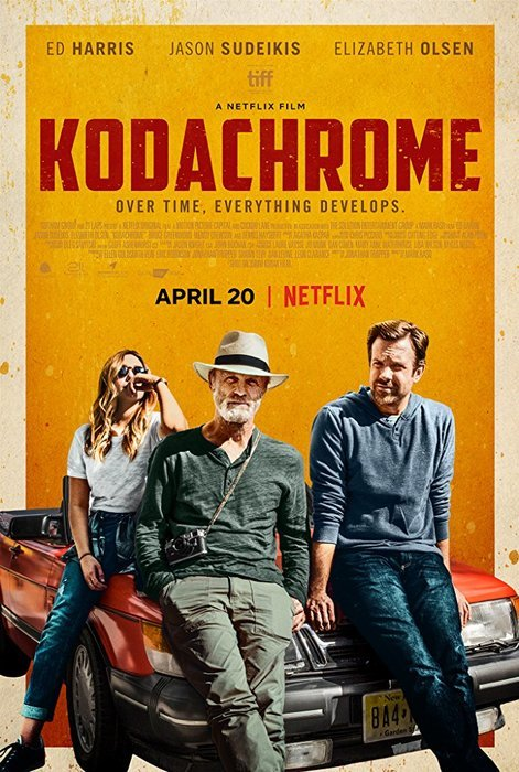 The film poster for Kodachrome, best photography movies