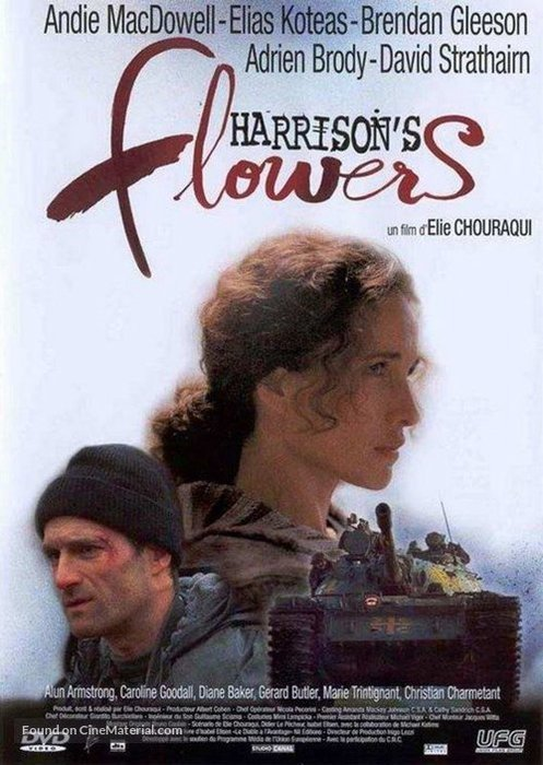 Harrison's Flowers - 2000, best photography movies