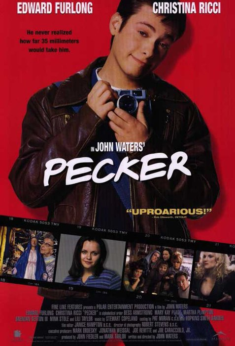 The movie poster for Pecker - 1998, best photography films