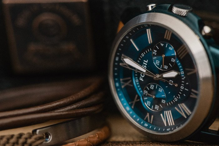 A product photography close up of a watch