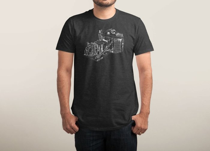 I Can't Draw - by Threadless - cool t-shirts for photography