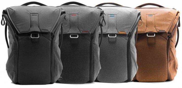the Peak Design Everyday Back Pack range
