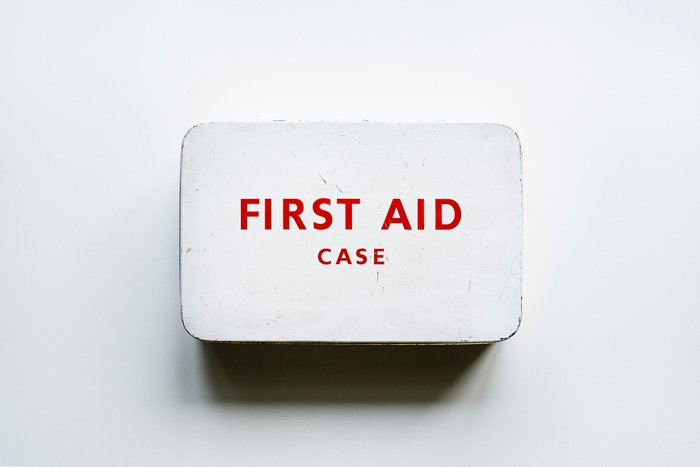 the waterproofSurviveware Small First Aid Kit