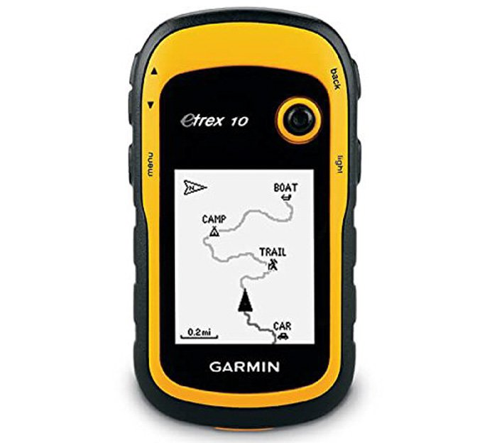 theGarmin eTrex10 GPS. urbex gear
