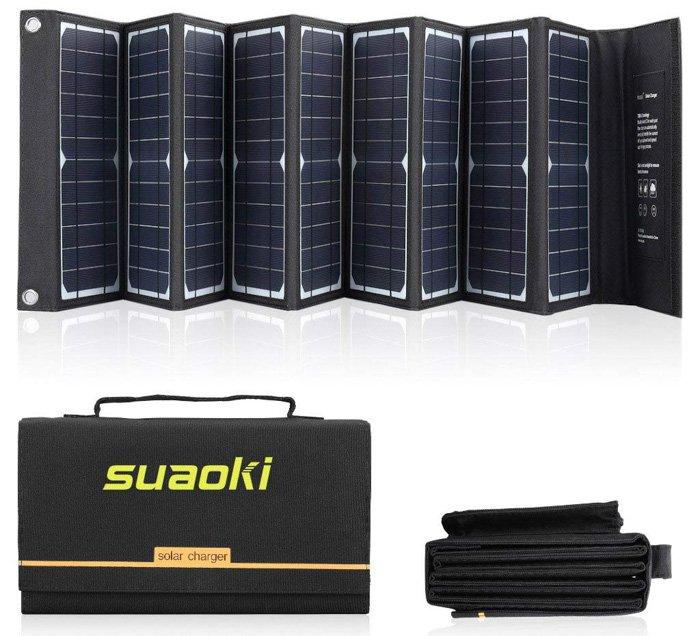 theSUAOKI Solar Charger- abandoned urban exploration