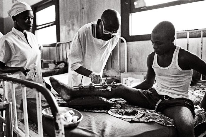 A photojournalism shot from a series about a hospital in the Democratic Republic of Congo. photojournalism vs documentary photography