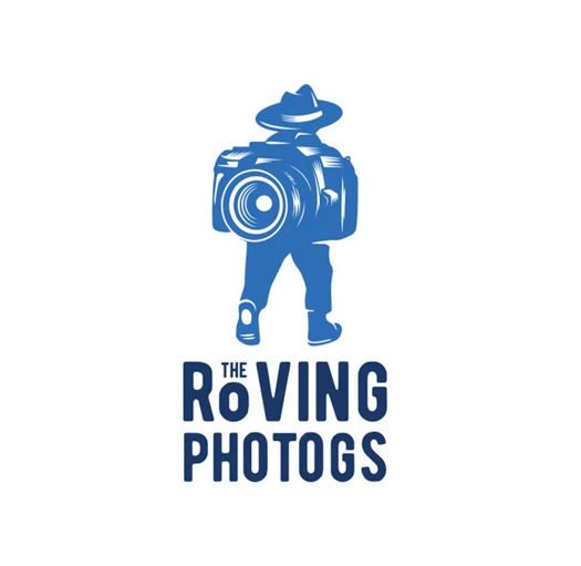 The Roving Photogs logo design- one of the coolest photography logos