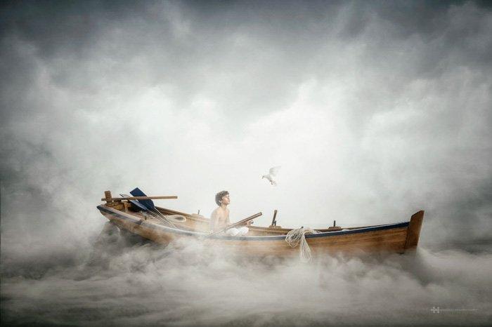 Sailing - ByFelix Hernandez Rodriguez, fine art photo
