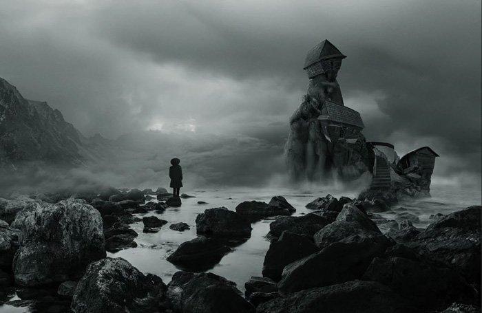 Alone in a strange place - byMartin Smolak, fine art photo