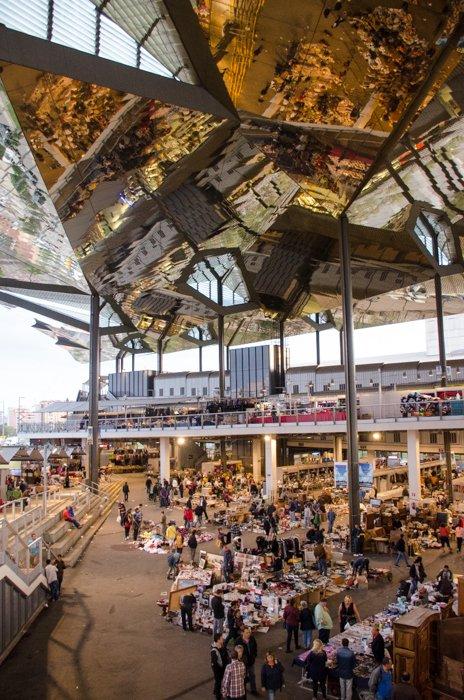 the Encants Vells flea market - Barcelona photography