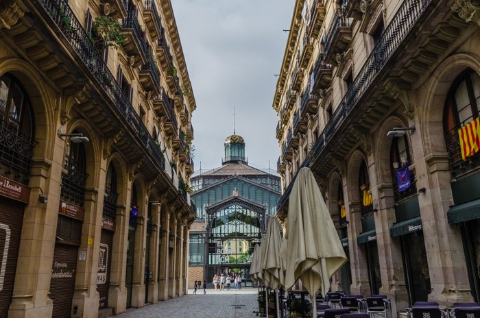 the El Born Market in Barcelona - best photography locations for barcelona pictures