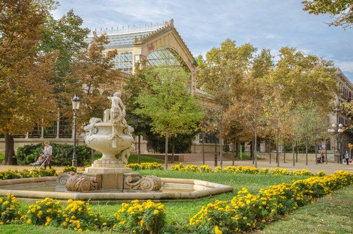 The Ciutadella Park in the Born Quarter - Barcelona photo locations