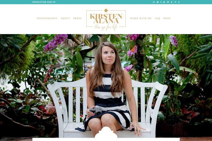 Kirsten Alana travel photography tips website