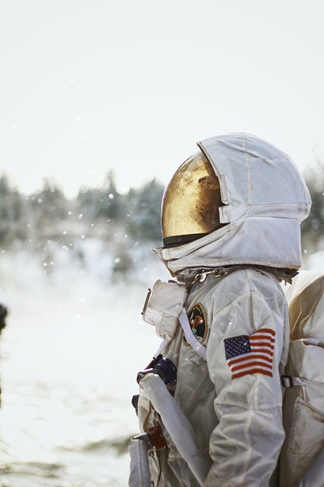 An otherworldly portrait of an astronaut - conceptual photography inspiration
