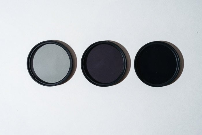 Three nd filters for taking zoom burst photos