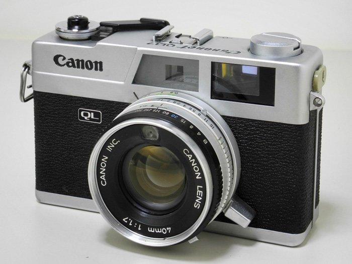 an image of the Canon Canonet GIII QL17 35mm camera