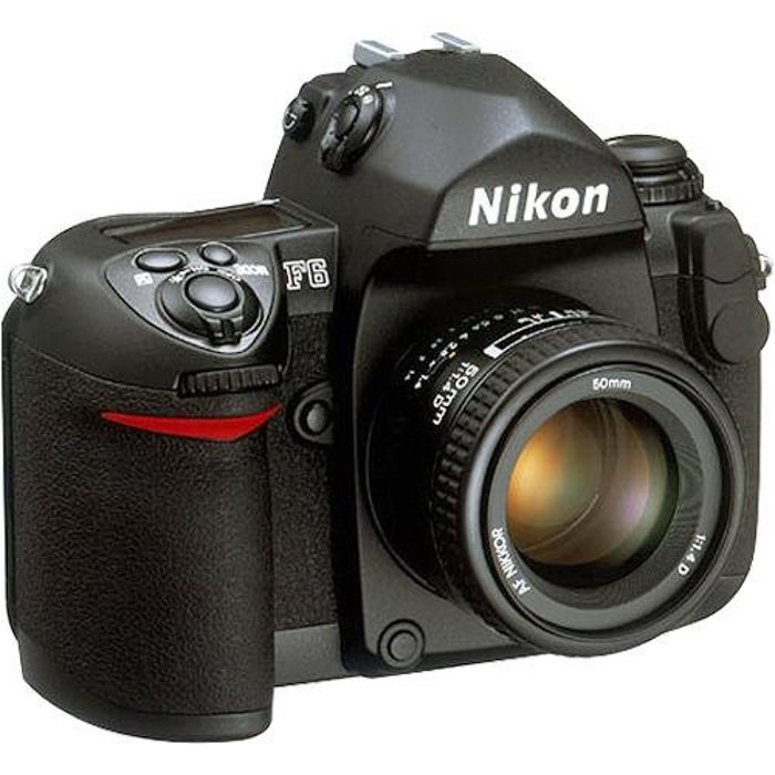 an image of the Nikon F6 classic 35mm camera